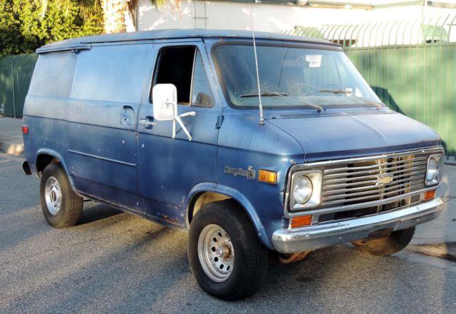 California Original, 1977 Chevy G20