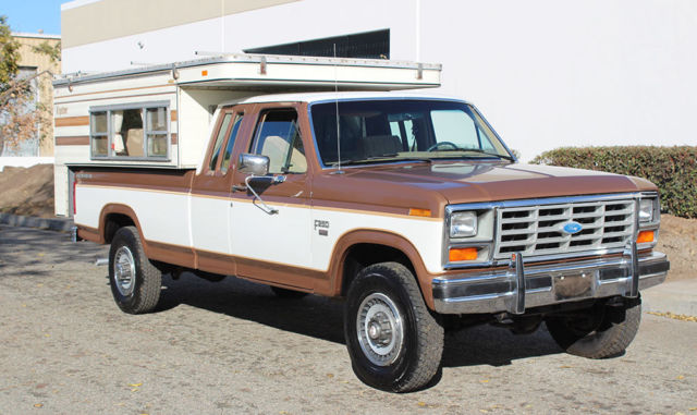 Find Owner Of Vehicle By Vin Number Free >> California Original, 1985 Ford F-250 XLT Lariat Diesel 4x4, One Owner, Low MIles