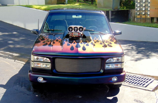 CHEVY PRO STREET SUPERCHARGED TRUCK AC 6.71 BLOWER 383 ...