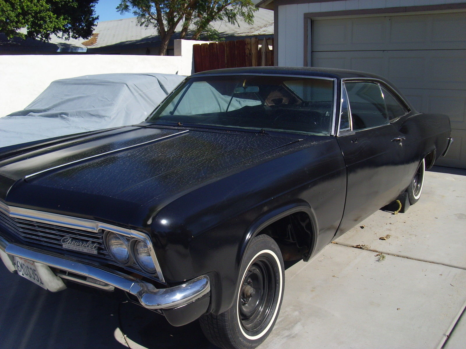 Classic 1966 Chevrolet Impala Ss Project Lowrider Hot Rod 656667 6566676869