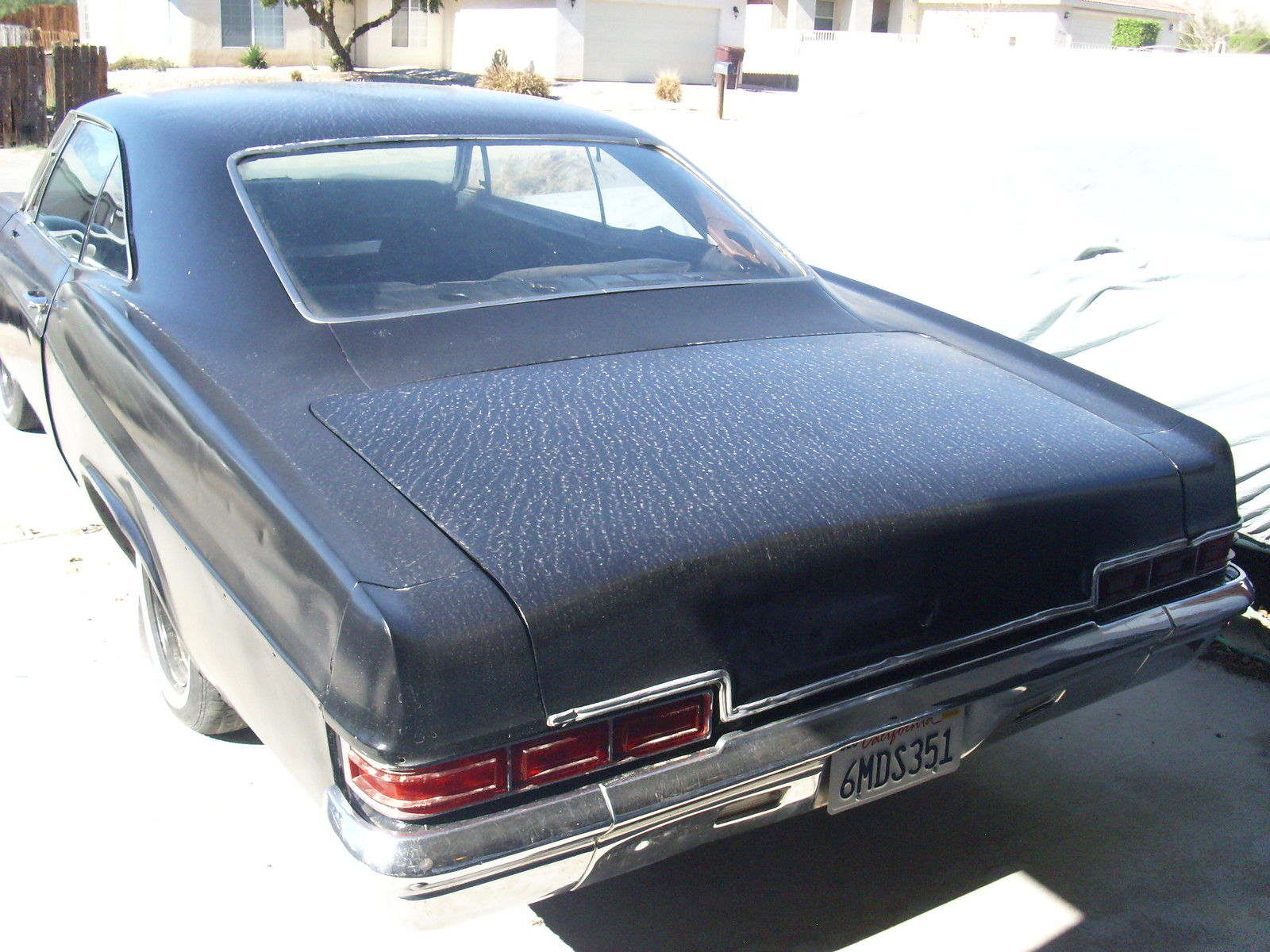 Classic 1966 Chevrolet Impala Ss Project Lowrider Hot Rod 656667 Chevy 2 Door 6566676869