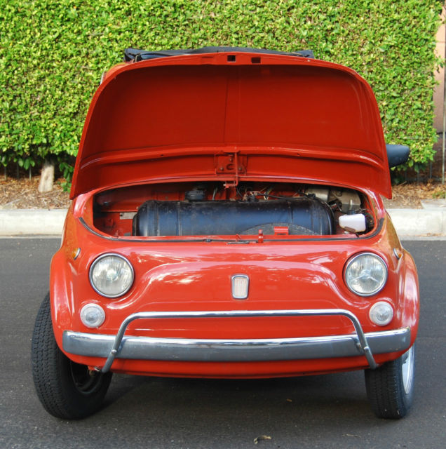 Classic 1968 Fiat 500, Rebuilt And Restored, Drives