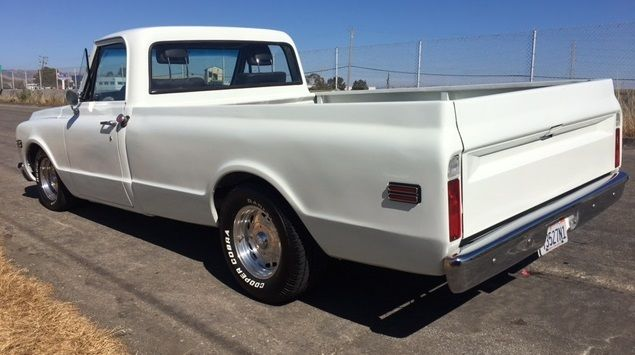 classic 1970 chevy chevrolet c10 long bed pick up truck custom lowered