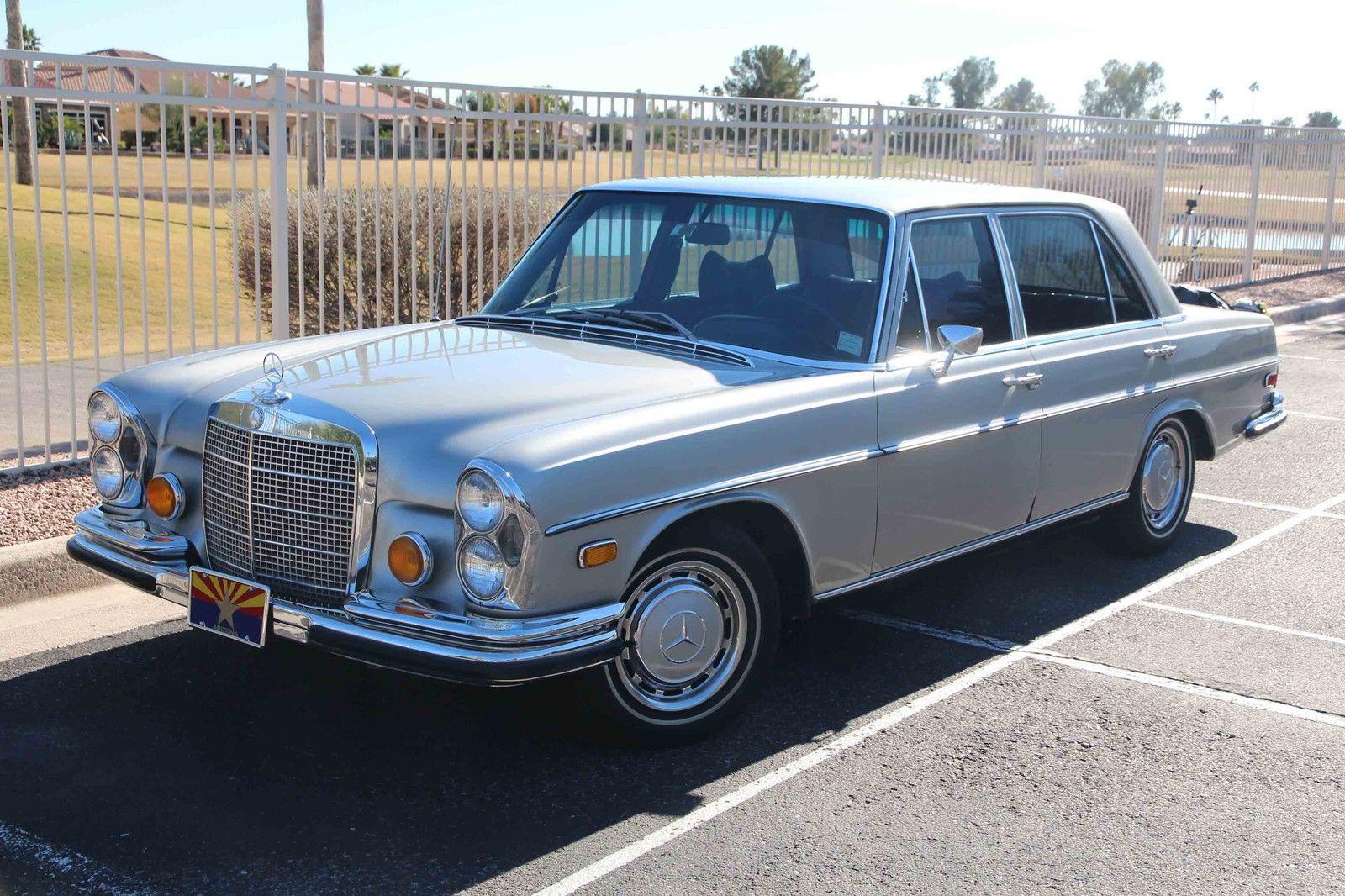Classic 1972 Mercedes Benz 280sel 4 5l