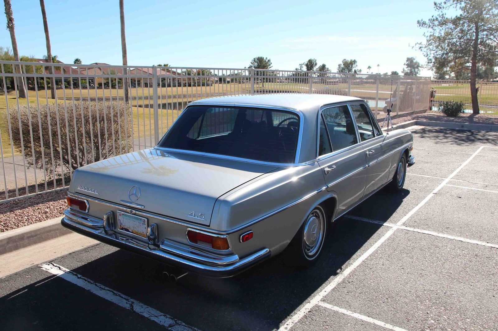 Classic 1972 mercedes benz 280sel 4 5l for 1972 mercedes benz