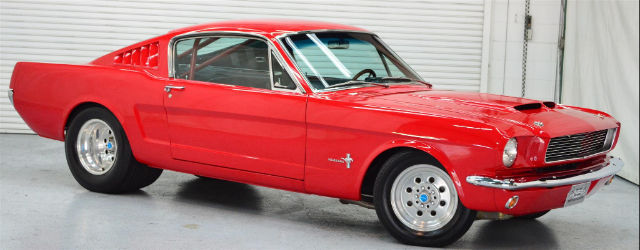 Classic Muscle Car Collector Race Car Pro Street Mustang