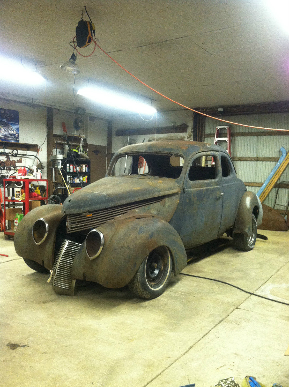 Classic Project 1938 Ford Std Coupe Hotrod