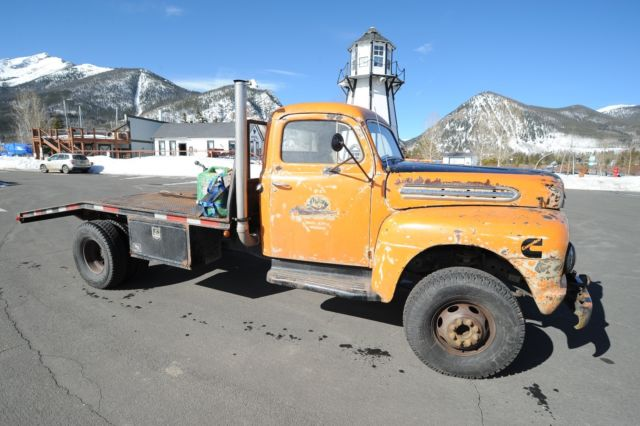 Cummins Rat rod Hauler 1951 ford F6 sits on a 1997 1ton chassis with