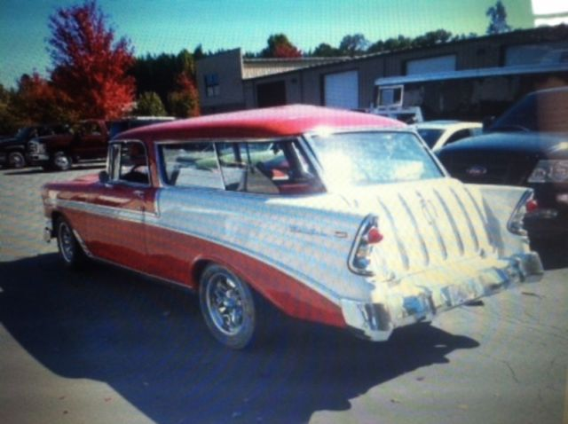 Custom 1956 Chevrolet Nomad Wagon Finish Project Car