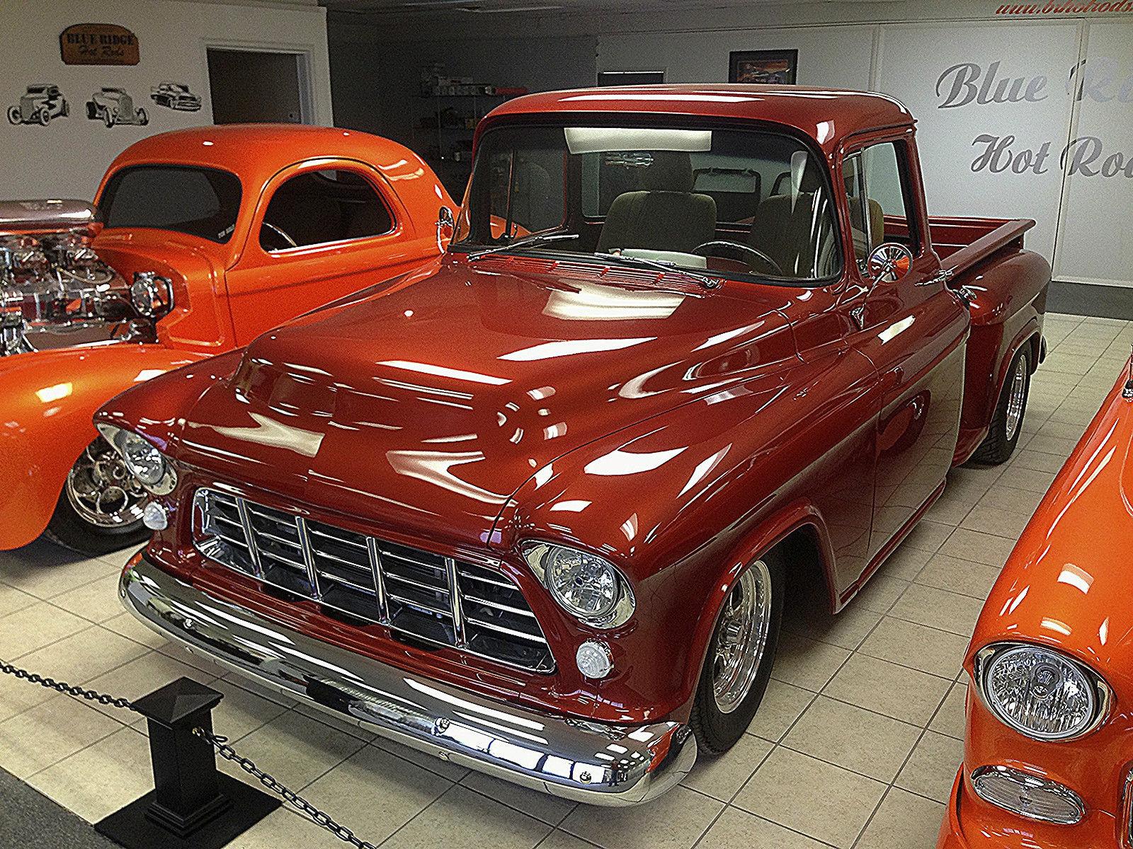 custom 1956 chevy truck restomod  frame off  overdive