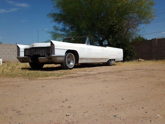 Custom 1965 Cadillac Deville Convertible Project