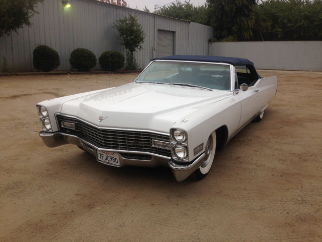 Custom Cadillac Deville Convertible Air Ride Suspension Bagged on 1966 Cadillac Engine Swap