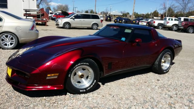 Custom 1980 Chevy Corvette