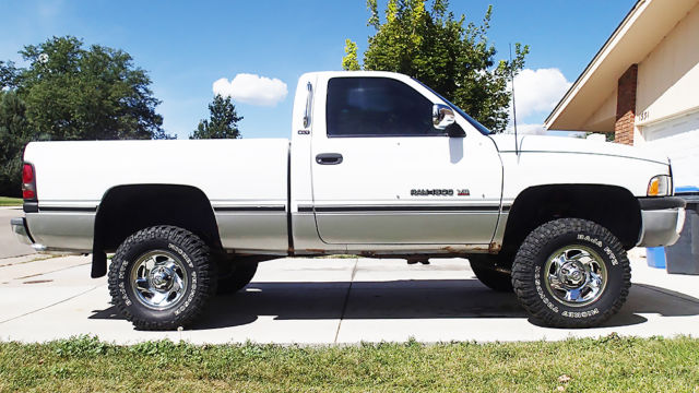 Custom 1994 Dodge Ram 1500 4x4 Pickup 5 2l 318 Lifted Modified