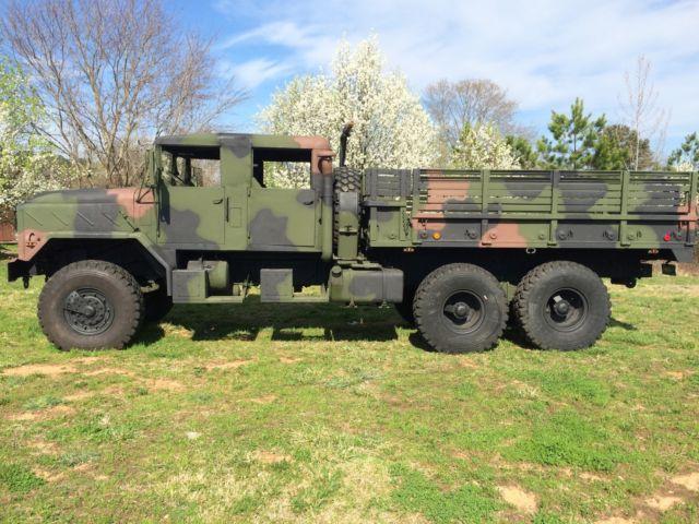 Custom Crew Cab 1992 Bmy M923a2 6x6 5 Ton Military Truck