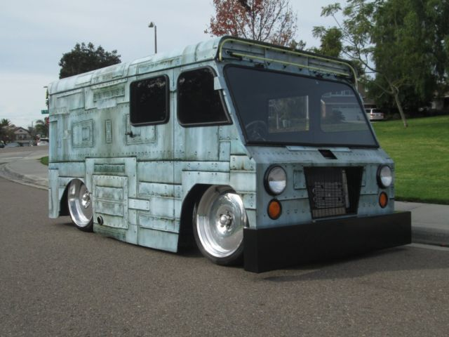 custom mail truck street rod hotrod show stopper. Black Bedroom Furniture Sets. Home Design Ideas