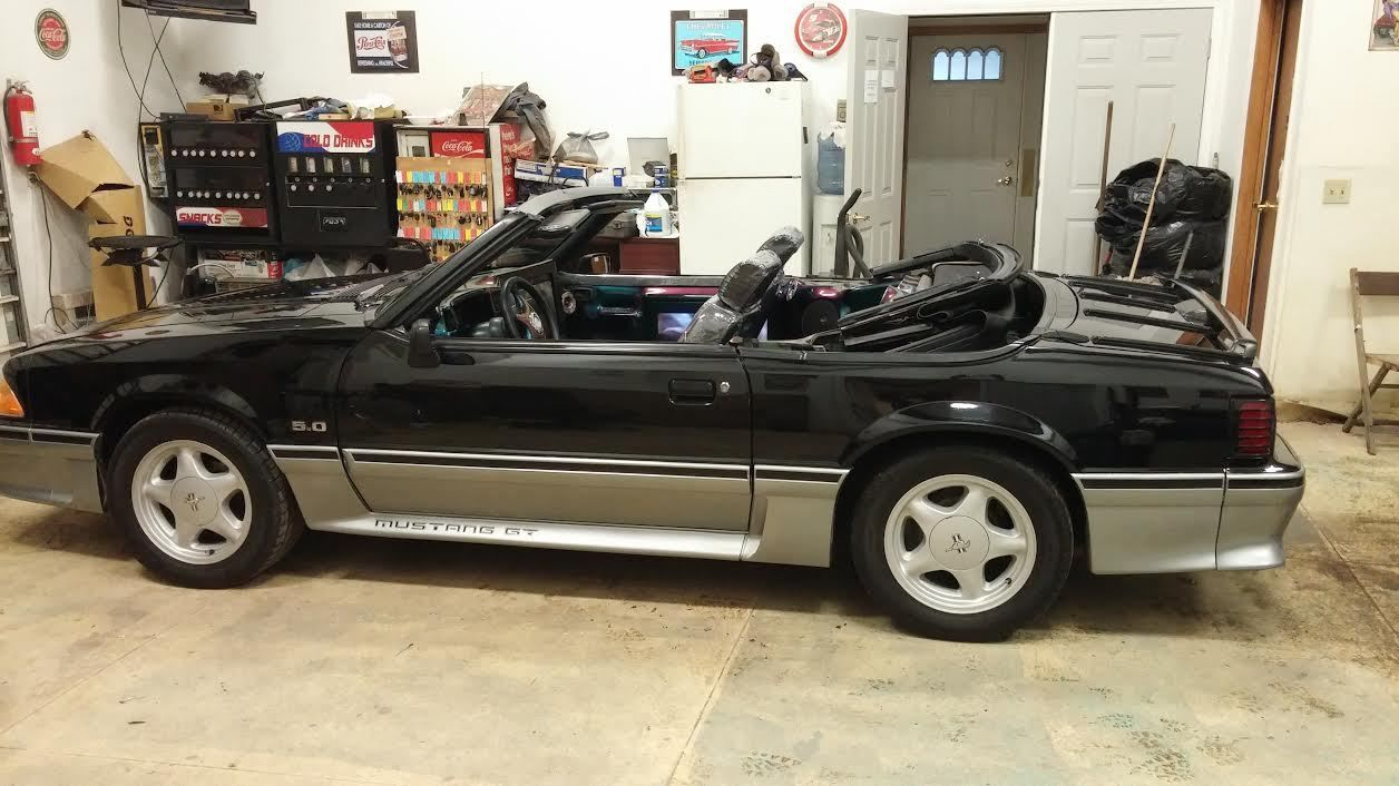 custom supercharged 88 mustang convertible. Black Bedroom Furniture Sets. Home Design Ideas