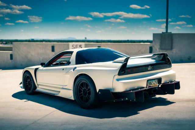 Custom Wide Body 1992 Acura Nsx Turbo Full 02 Conversion