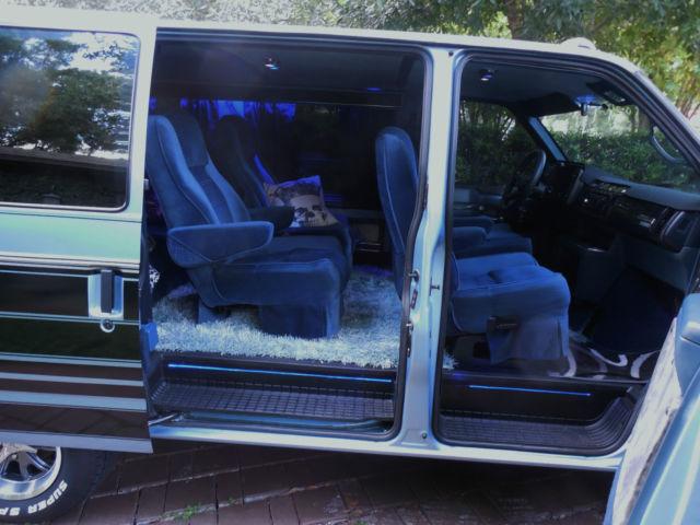 Customized Van Chevy Custom Astro 1992 Zero Rust Awesome