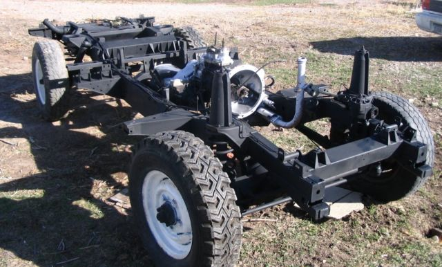 DEFENDER 110, COMPLETE ROLLING CHASSIS (frame) AND REAR 5 ...