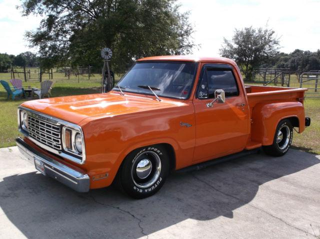 Dodge: 1978 D100 Pickup/Stepside, Shop Truck, Street Truck ...