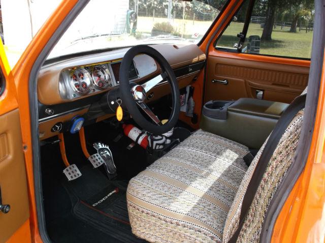 Dodge 1978 D100 Pickup Stepside Shop Truck Street Truck