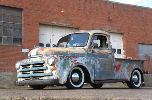 Dodge B Series Hot Rod Show Truck 1950 1953 V8 440 Rat Rod Patina