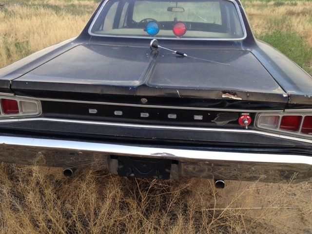 Dodge Coronet Police Car Barn Find Of The Century
