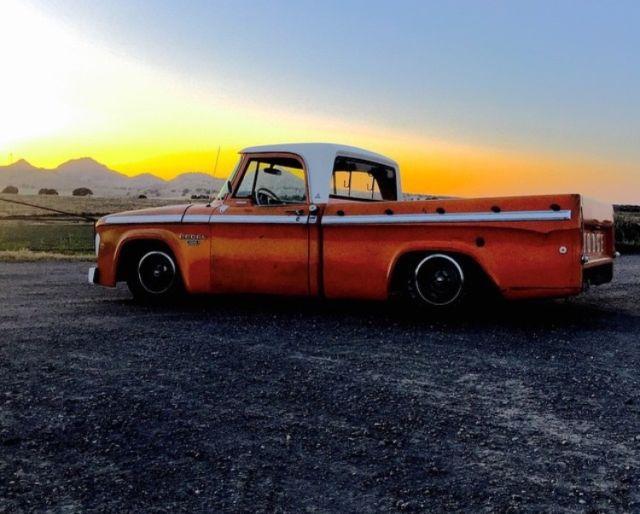Yuba City Dodge >> Dodge D100 Sweptline Custom Cab Shortbed Big Block IFS 4 ...