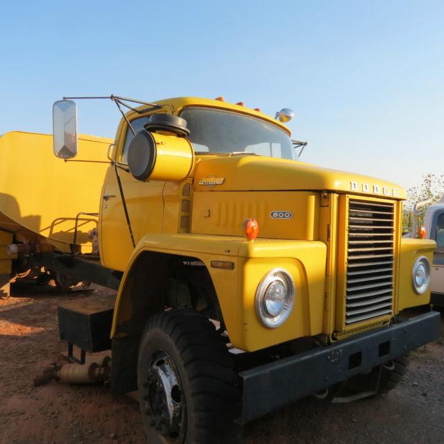 Dodge D80, D800, 800, C800, Bighorn, Semi Truck, 555