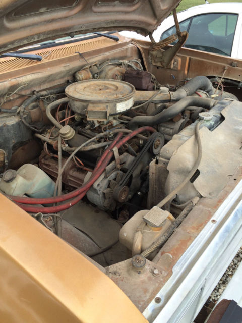 Dodge Ram D250 Farm Truck 2500 5 9 Liter 360 Engine