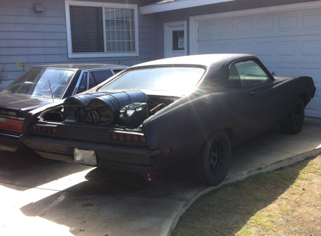 Drives 1970 Ford Torino 2dr 70 S Mad Max Rat Rod Muscle As Is Runs