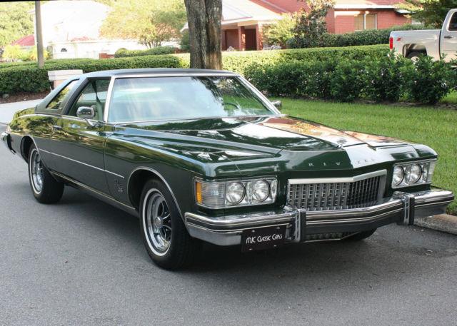 Excellent Low Mile Luxury Survivor 1974 Buick Riviera Gs