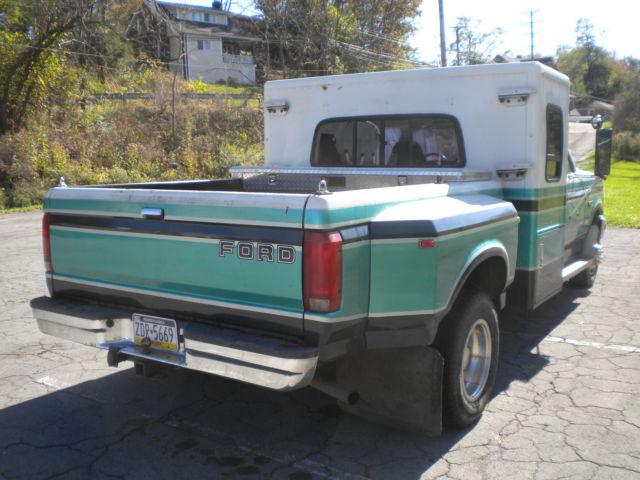 F 350 Xlt Diesel Dually Sleeper Hotshot Truck Hot Shot For