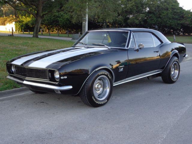 Camaro De 1969 >> Factory SS car! Built 396cid V8! 4-Speed Gearbox! Disc Brakes! Rally Wheels! WOW