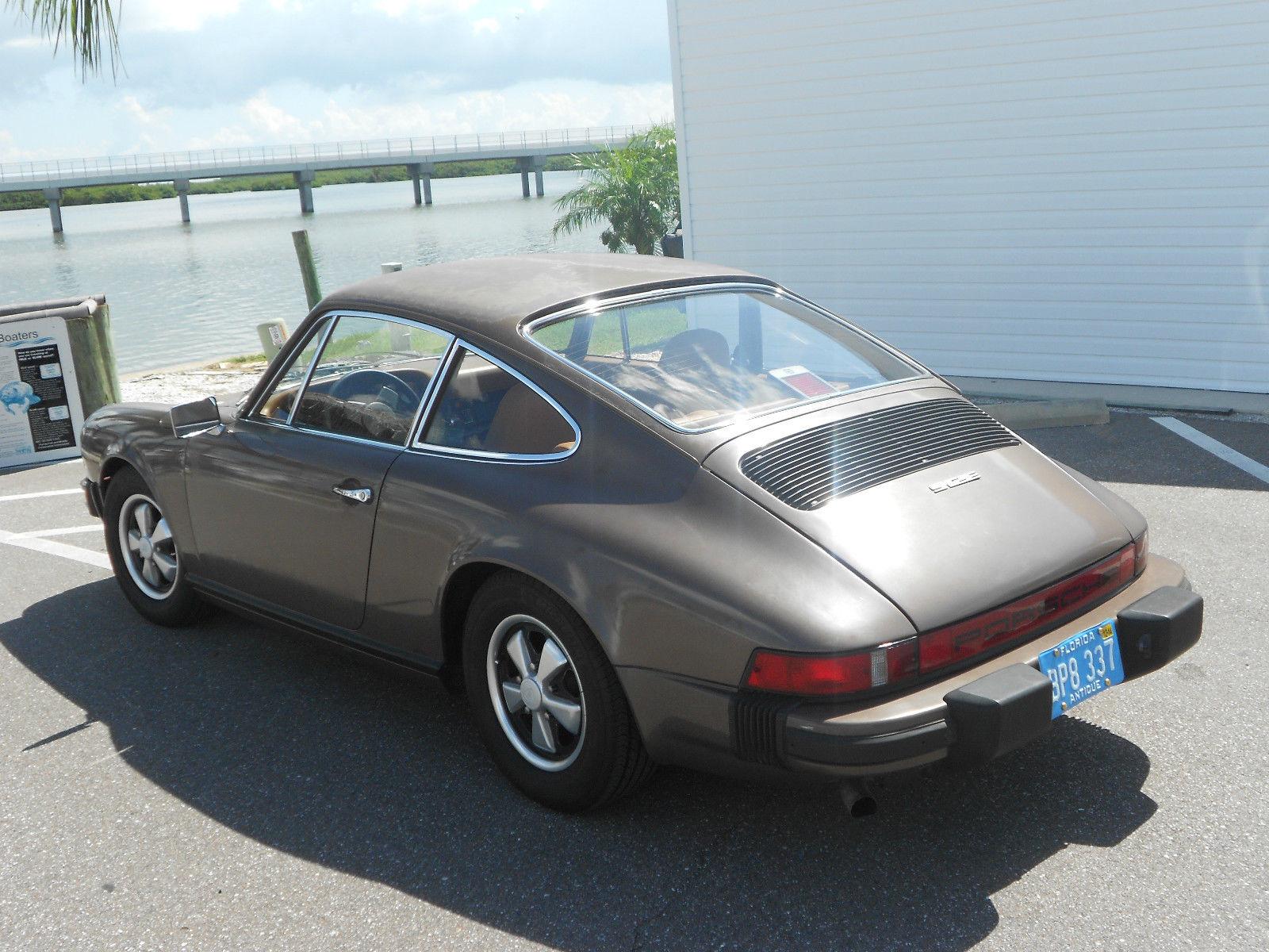 Faded Ol Rust Free Porsche 912e For Sale In Saint