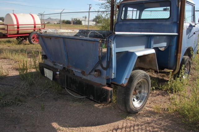 fc 150 jeep forward control arizona truck wide track all steel stight body. Black Bedroom Furniture Sets. Home Design Ideas