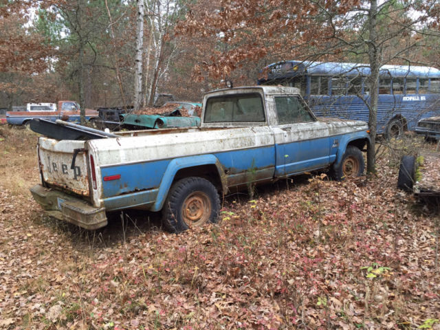 for sale 1972 jeep j10 pickup 4x4 2000 lots of vehicles parts new used. Black Bedroom Furniture Sets. Home Design Ideas
