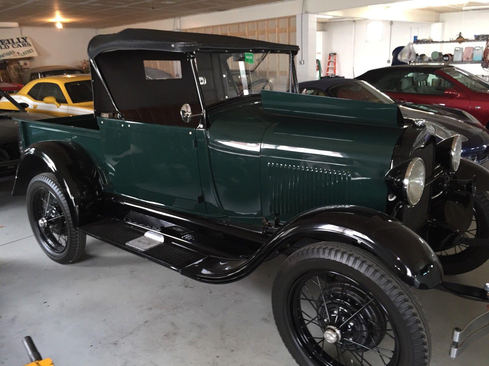 ford 1929 model a roadster pickup truck. Black Bedroom Furniture Sets. Home Design Ideas
