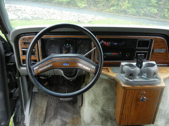 ford econoline e150 dmc conversion van
