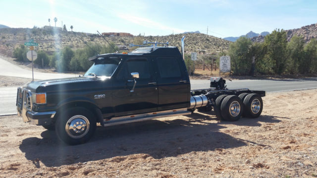 Ford F 350 Tandem Axle Dually 1991