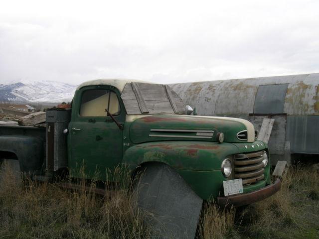 ford f3 1950 heavy duty 3 4 ton pickup truck. Black Bedroom Furniture Sets. Home Design Ideas