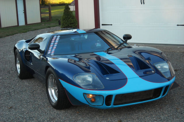 Ford Gt Replica By Gt Developments In The Ukmodified Ford  Small Block