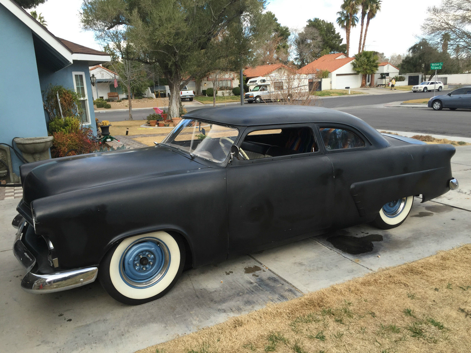 Ford Mainline Chopped Lead Sled Flathead V Hot Rod Rat Rod Kustom Kemp