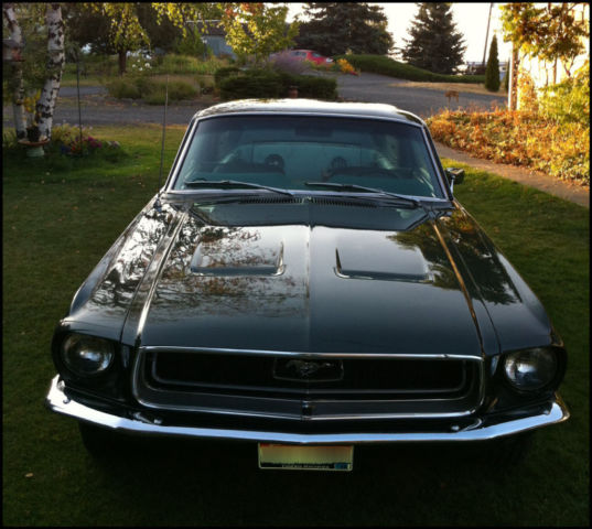 FORD MUSTANG, 1968, GT FASTBACK, 302 V8, AUTOMATIC