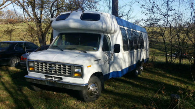 Ford Shuttle Bus Diesel Liter Automatic Miles