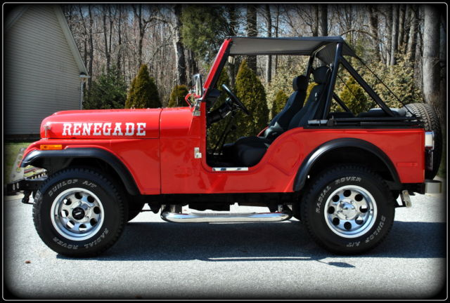Frame Off Restored 1980 Jeep Cj5 Renegade Excellent