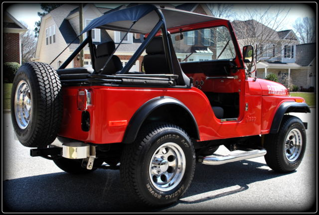 frame  restored  jeep cj renegade excellent condition wrangler cj