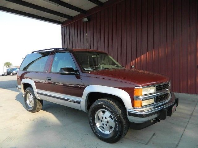 Full Size Blazer 2 Door Tahoe 1 Owner Very Clean New Tires