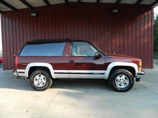 Full Size Blazer 2 Door Tahoe 1 Owner Very Clean New Tires